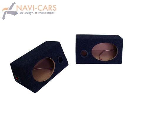 Универсальный короб под акустику с фазоинвертором (овал)