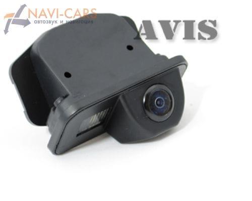 Камера заднего вида (CCD) AVIS AVS321CPR для Toyota Avensis / Corolla E12 (2001-2006)