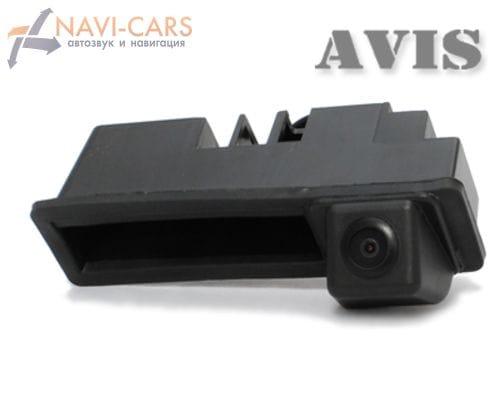 Камера заднего вида (CCD) AVIS AVS321CPR для Audi A6 (от 2011) / A8 (от 2010) / Q7 (в ручку багажника)