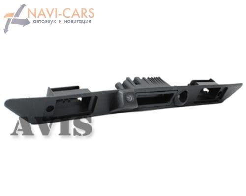Камера заднего вида (CCD) AVIS AVS321CPR для Audi A3/A6/A8/Q7 (в ручку багажника и планку)