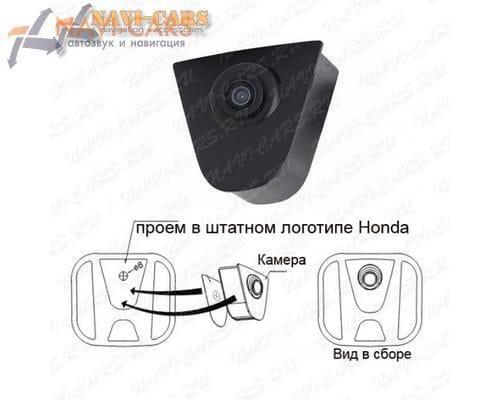 Камера переднего обзора для Honda Accord / Civic / CR-V / Jazz / Pilot