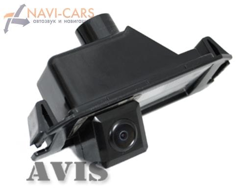 Камера заднего вида (CMOS) AVIS AVS312CPR для Kia Genesis Coupe (от 2012) / Picanto / Soul