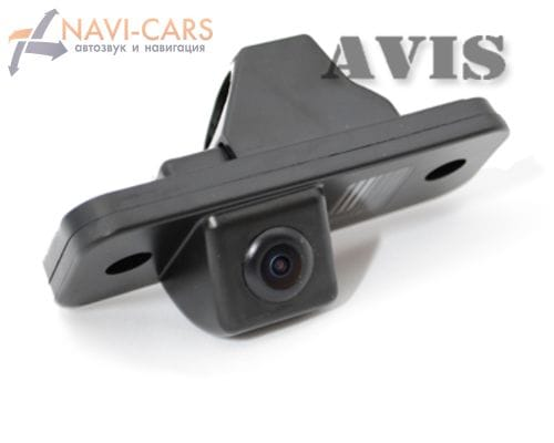 Камера заднего вида (CCD) AVIS AVS321CPR для Hyundai Santa Fe II (2006-2012)
