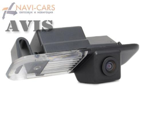 Камера заднего вида (CCD) AVIS AVS321CPR для Kia Rio II (2005-2010) Sedan / Rio III (от 2011) Sedan