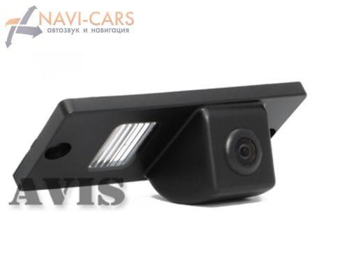 Камера заднего вида (CCD) AVIS AVS321CPR для Kia Sportage II (2005-2010) / Carnival