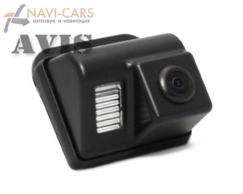 Камера заднего вида (CCD) AVIS AVS321CPR для Mazda СХ-5 / СХ-7 / СХ-9 / 3 Hatchback / 6 (GG, GY) Sedan (2002-2008) / 6 (GH) Sport Wagon (2007-2012)