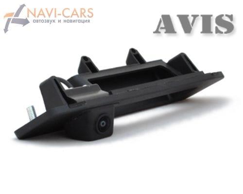 Камера заднего вида (CCD) AVIS AVS321CPR для Mercedes GL X166 (от 2012) (в ручку багажника)
