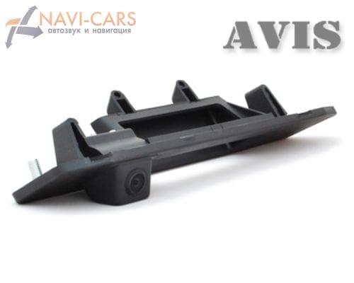 Камера заднего вида (CCD) AVIS AVS321CPR для Mercedes ML W166 (от 2011) (в ручку багажника)