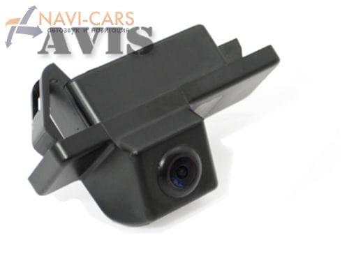 Камера заднего вида (CCD) AVIS AVS321CPR для Peugeot 207CC / 307 (hatchback) / 307CC / 308CC / 3008 / 407 / 508 / RCZ