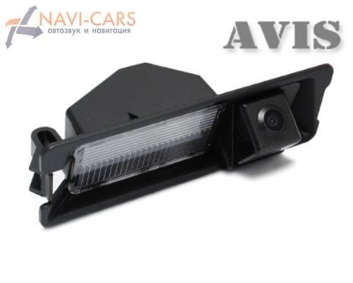Камера заднего вида (CCD) AVIS AVS321CPR для Renault Logan / Sandero
