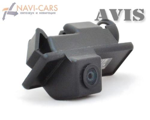 Камера заднего вида (CCD) AVIS AVS321CPR для Peugeot 508 (от 2011)/ 1007/ 207СС/ 301/ 307/ 308/ 407/ 408/ RCZ/ 508/ 607/ Expert III Tepee (с подъёмной дверью)/ 807