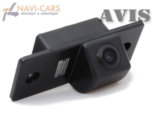 Камера заднего вида (CCD) AVIS AVS321CPR для Skoda Fabia II (от 2008) / Yeti