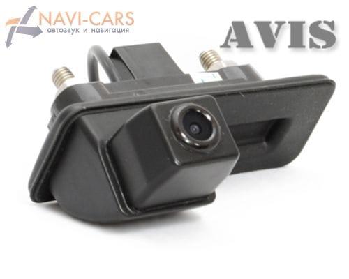 Камера заднего вида (CCD) AVIS AVS321CPR для Skoda Fabia/ Octavia/ Roomster/ Superb/ Yeti (в ручку багажника)