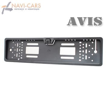 Камера заднего вида в рамке номерного знака (CCD) AVIS AVS308CPR