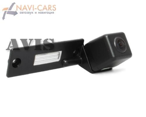 Камера заднего вида (CCD) AVIS AVS321CPR для Volkswagen Caddy (2004-2008) / Caravelle / Golf V / Jetta V / Multivan (T5) / Passat B6 / Passat CC / Phaeton / Touran / Transporter