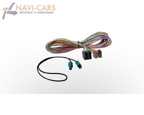 ISO-переходник и антенный ISO-переходник (Fakra) N6-6M-EXT для BMW E46/E39/E53