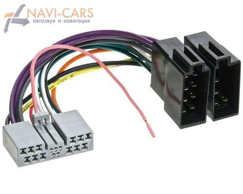 ISO-переходник Intro AHO-06 для Honda Accord/Civic/CR-V/Fit (обратный)