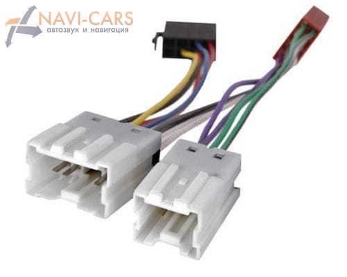 ISO-переходник Intro ISO NS-03 для Nissan Almera Classic, Micra, Note (правый руль)