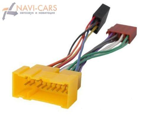 ISO-переходник Intro ISO NS-01 для Nissan Almera 00-06 г.в., Primera 99-04 г.в.
