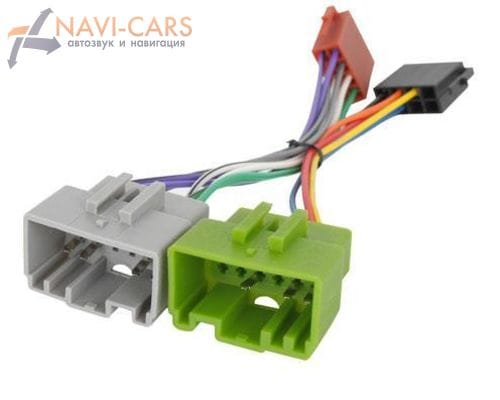 ISO-переходник для Volvo S40, V40, S60, S70, V70, S80