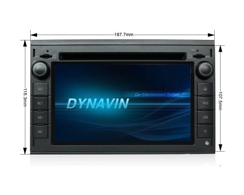 Штатная магнитола Dynavin N6-W210 для Mercedes ML класс (W163), E класс (W210), CLK класс (W208)
