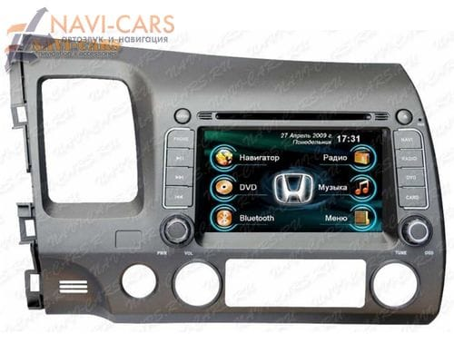 Штатная магнитола Intro CHR-3701 для Honda Civic 4D (2006-2012)