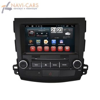 Штатная магнитола Redpower 18056 GPS+ГЛОНАСС для Mitsubishi Outlander XL