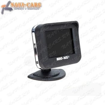 Парктроник Sho-Me KDR 36 на 4 датчика с камерой и монитором