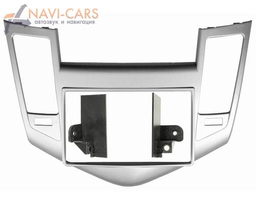 Рамка 2din Intro RCV-N08S для Chevrolet Cruze 09-12 (silver)