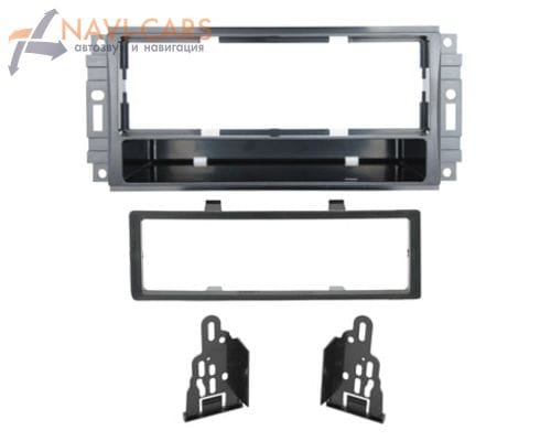 Рамка 1din Intro 99-6511 для Chrysler Sebring 07+, 300/300C 08+, Town&Cantry 08+, Jeep Liberty 08+, Wrangler
