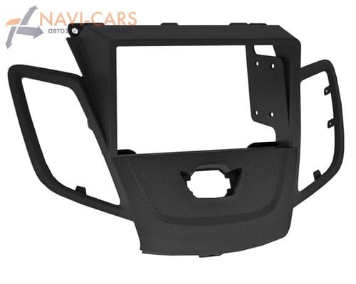 Рамка 1/2din Intro RFO-N20 для Ford Fiesta 09+ balack (без штатного дисплея)