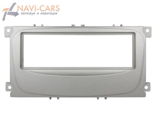 Рамка 1din Intro RFO-N11S для Ford Focus-2 restal, Mondeo 08+, C-Max, S-Max, Galaxy new 07+