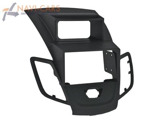 Рамка 1/2din Intro RFO-N22 для Ford Fiesta 09+ balack (со штатным дисплеем)
