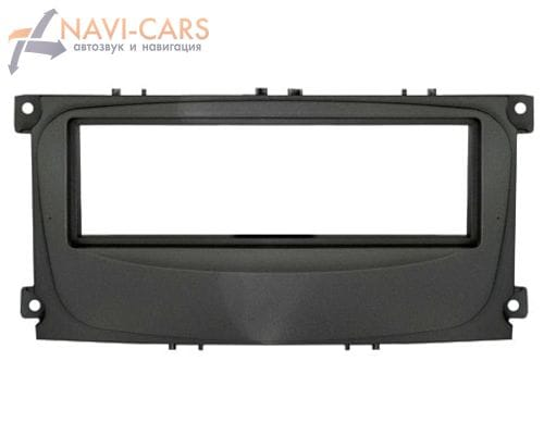 Рамка 1din Intro RFO-N11 для Ford Focus-2 restal, Mondeo 08+, C-Max, S-Max, Galaxy new 07+