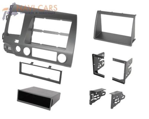Рамка 1/2din Intro 99-7871 для Honda Civic 06+ sedan 4D (крепеж)