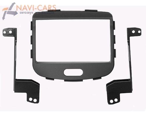Рамка 2din Intro RHY-N10 для Hyundai i-10 до 2013 (черная)