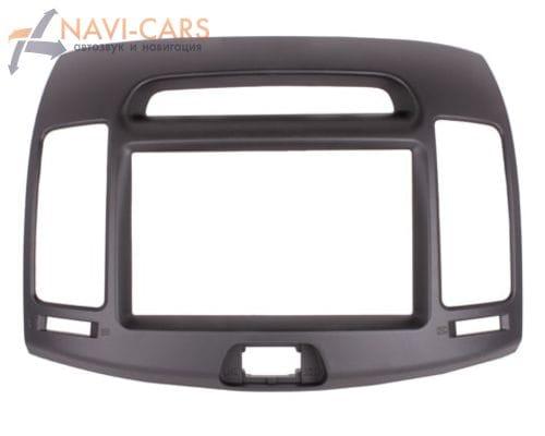 Рамка 2din Intro RHY-N09 для Hyundai Elantra 07-10, Avante (воздуховод)