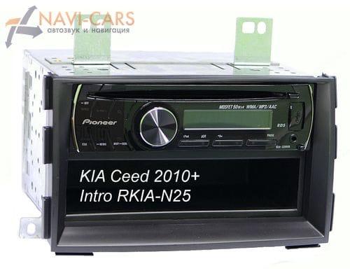 Рамка 1din Intro RKIA-N27 для KIA Ceed 10-11, Venga