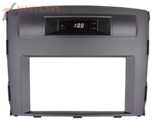 Рамка 2din Intro RMS-N01А для Mitsubishi Pajero 4 (original, часы)