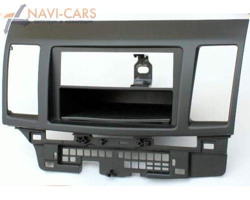 Рамка 1din Intro RMS-N08 для Mitsubishi Lancer 10 08+