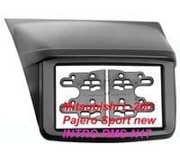 Рамка 2din Intro RMS-N17 для Mitsubishi L-200, Pajero Sport new (накладка, крепеж)