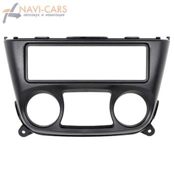 Рамка 1din Intro RNS-N02 для Nissan Almera (N16) 01-05 (широкая)