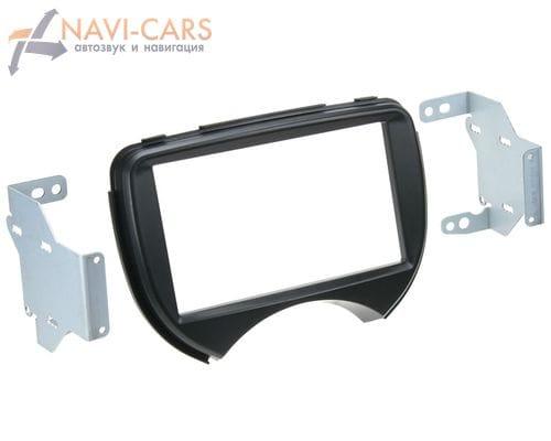 Рамка 2din Intro RNS-N07 для Nissan Micra (K13) 12+ (крепеж)