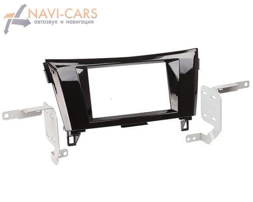 Рамка 2din Intro RNS-N10 для Nissan Qashqai 2014+ (крепеж)