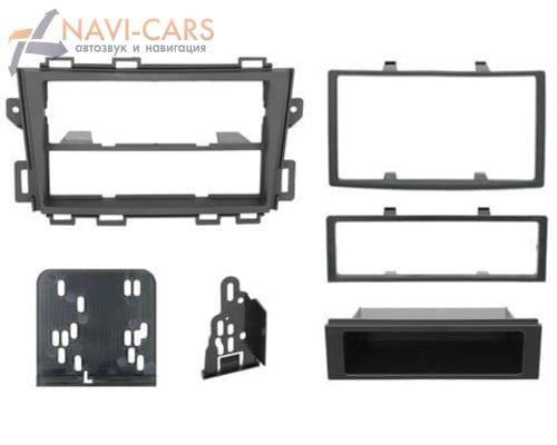 Рамка 1/2din Intro 99-7426 для Nissan Murano 09+ (крепеж)