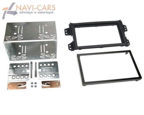 Рамка 2din Intro ROP-N12 для Opel Agila (FXB22/FXB32) 08+ (салазки)