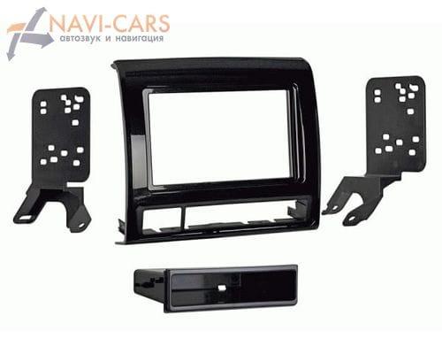 Рамка 1/2din Intro 99-8235B для Toyota Tacoma 2012+ (крепеж)