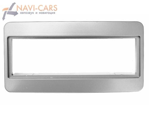 Рамка 1din Intro RTY-N09S для Toyota Celica, Avensis до 02, RAV4 01-05 (серебристая)