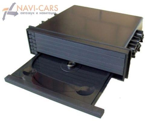 Рамка-карман 1din Intro RUN-N02 для Toyota, Nissan, Subaru, Mitsubishi (6 дисков)