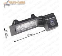 Камера заднего вида Pleervox PLV-CAM-AU04 для AUDI A1 / A3 / A4 / A5 / A6 / Q3 / Q5 / TT
